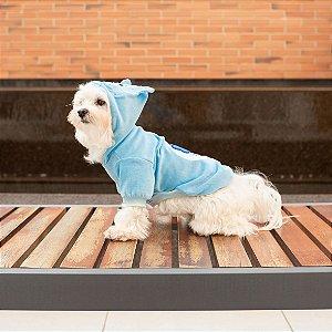 Moletom para Cachorros | Ursinhos Carinhosos Azul Zangadinho
