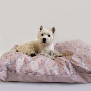 Almofadão para Cachorros Marble Pink