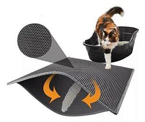 Tapete Contra Sujeira para Sanitário de Gatos | Mat Cat