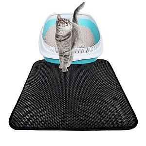 Tapete Contra Sujeira para Sanitário de Gatos Mat Cat