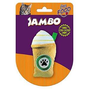 Brinquedo para Gatos Pelúcia Food Cat Starbark Caramelo com Catnip