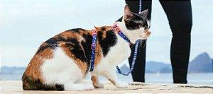 Peitoral com Guia para Gatos   Atlanta