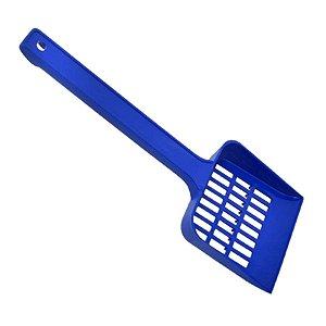 Pá Plástica Higiênica Azul