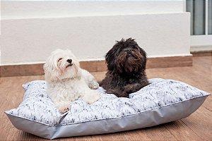 Almofadão para Cachorros Marble Grey