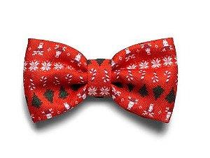 Gravata para Cachorros Natal Rudolph