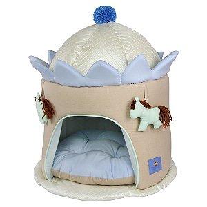 Toca Carrossel para Cachorros e Gatos | Azul