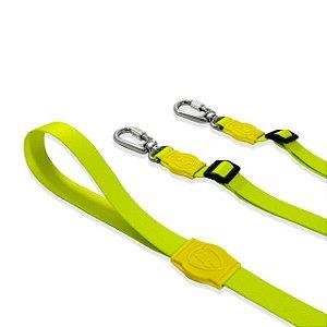 Guia Dupla para Cachorros Neon Lemon