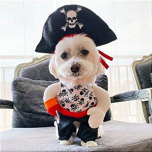 Fantasia para Cachorros | Pirata | Carnaval