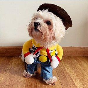 Fantasia para Cachorros Cowboy