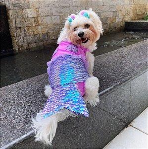 Fantasia para Cachorros | Maiô Sereia