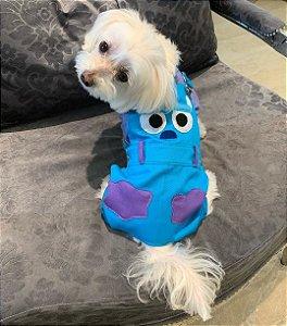 Macacão para Cachorros | Monstro Azul