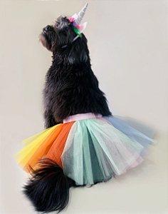 Fantasia para Cachorros e Gatos | Unicórnio