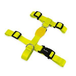 Peitoral H para Cachorros | Neon Lemon