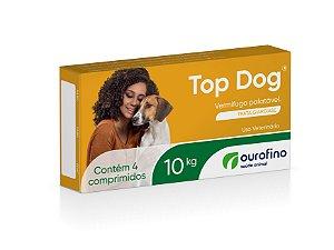 Vermífugo Top Dog Ourofino | Cães até 10kg
