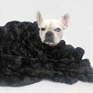 Cobertor para Cachorros e Gatos Preto