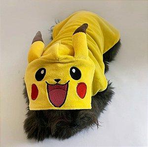 Moletom para Cachorros e Gatos | Pokémon Pikachu