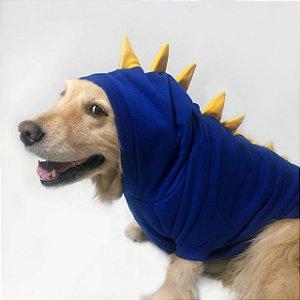 Moletom para Cachorros | Dinossauro Azul