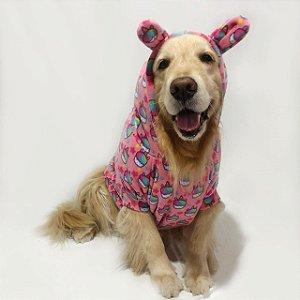 Moletom para Cachorros | Cupcake Unicórnio Rosa