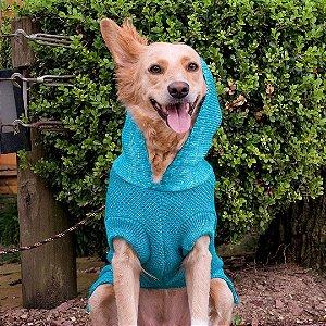 Tricot com Capuz para Cachorros e Gatos | Cauração