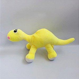 Brinquedo para Cachorros | Pelúcia Dino Amarelo