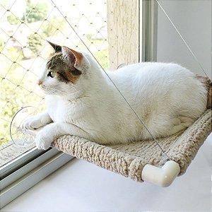 Cama de Janela para Gatos | Catbed Carneirinho