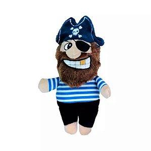 Brinquedo para Cachorros   Pelúcia Pirata Listrado