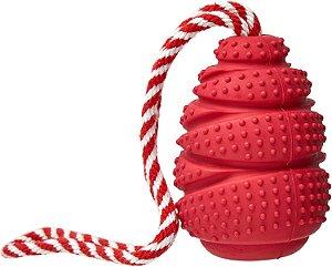 Brinquedo para Cachorros Rubber Cone com Corda