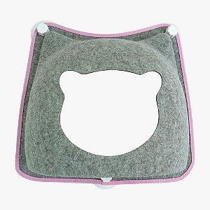 Cama de Janela com Ventosa para Gatos| Carinha de Gato