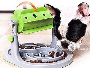 Comedouro Lento Interativo para Cachorros e Gatos | Speedy Pet