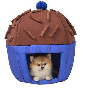 Toca para Cachorros e Gatos | Brigadeiro Azul