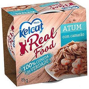 Alimento Úmido para Gatos Real Food Kelcat Atum com Camarão