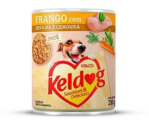 Alimento Úmido para Cachorros Keldog Frango com Ervilha e Cenoura