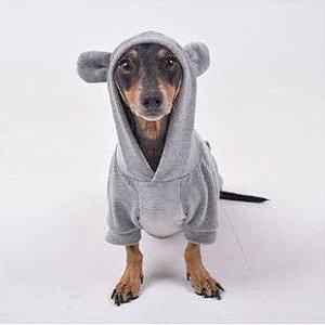 Moletom para Cachorros e Gatos | Ursinho Cute Cinza