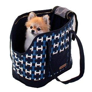 Bolsa de Passeio para Cachorros e Gatos | Buba Marinho