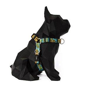 Peitoral Anti Puxão para Cachorros Scooby-Doo