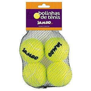 Brinquedo para Cachorros Bola de Tênis com 4
