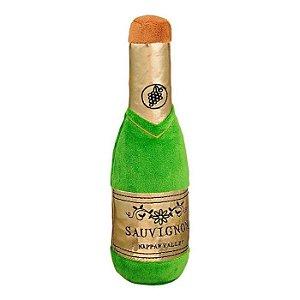 Brinquedo para Cachorros Pelúcia Garrafa de Champagne