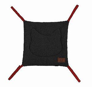 Rede de Cadeira para Gatos | London Black