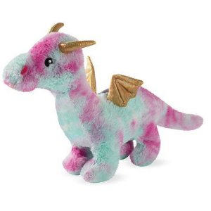Brinquedo para Cachorros Pelúcia Magenta Dragon