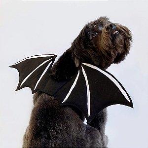 Fantasia para Cachorros e Gatos Asas de Morcego