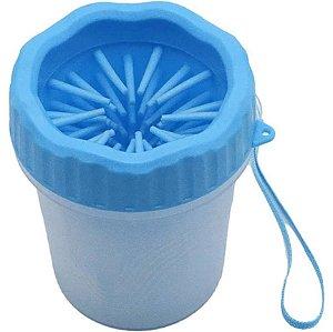 Lava Patas para Cachorros Azul