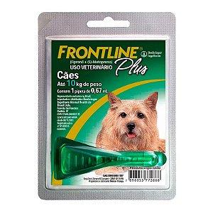 Antipulgas e Carrapatos Frontline Plus | Cães de 1 a 10kg