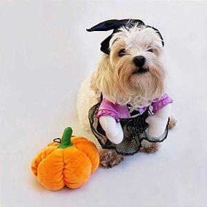 Fantasia de Halloween para Cachorros Bruxinha
