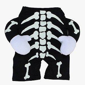 Fantasia para Cachorros | Esqueleto Brilhante | Halloween