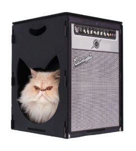 Puff Arranhador Rock Meow