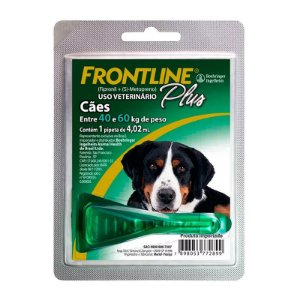 Antipulgas e Carrapatos Frontline Plus Cães de 40 a 60kg
