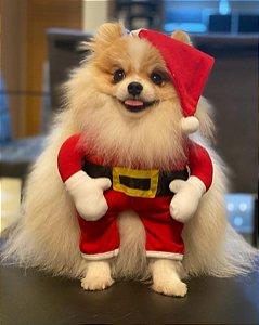 Fantasia para Cachorros Papai Noel