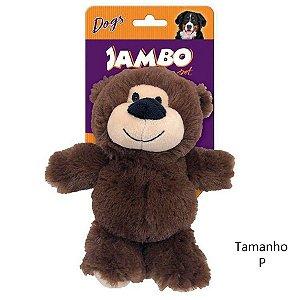 Brinquedo para Cachorros Pelúcia Ursinho Marrom