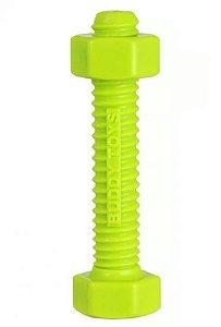 Brinquedo para Cachorros Parafuso de Nylon Verde