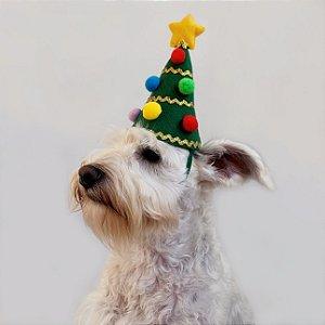 Fantasia de Natal para Cachorros e Gatos Árvore de Natal